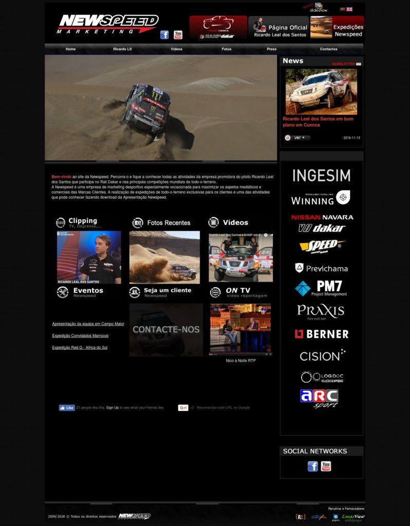 LucasView Portfolio Newspeed